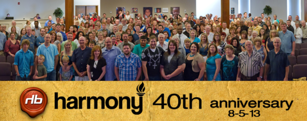Harmony 40th Anniversary