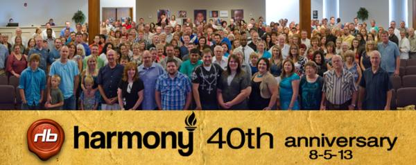 Harmony 40th Anniversary