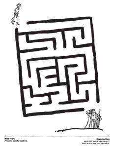 Maze Activity