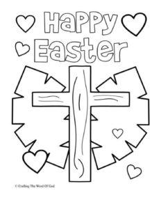 April Week 2 - Easter Coloring Page