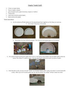 April Week 2 - Preschool Crafts | He is Risen