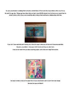 April Week 1 - Preschool Craft
