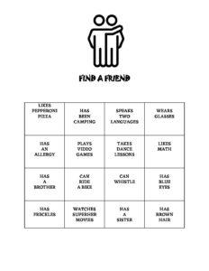 May Week 1 - Find a Friend