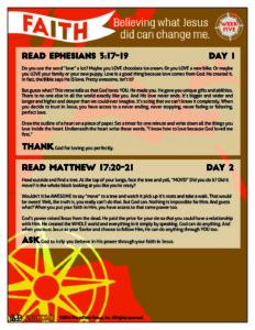 May Week 5 - God Time