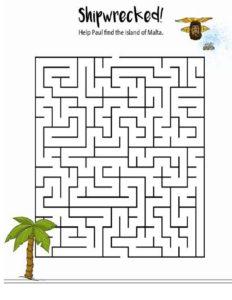 May Week 4 - Malta Maze