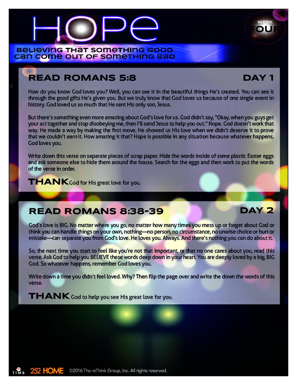 April Week 2 - God Time