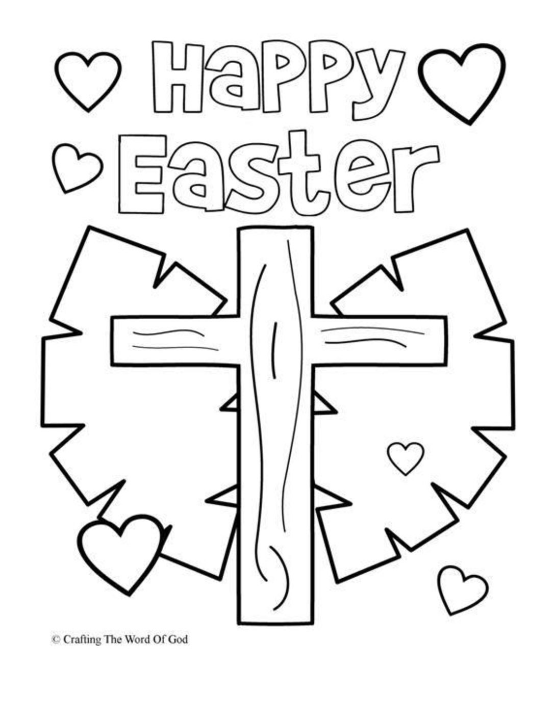 April Week 2 - Easter Coloring Pages