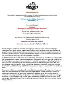 June Week 1 - Lesson