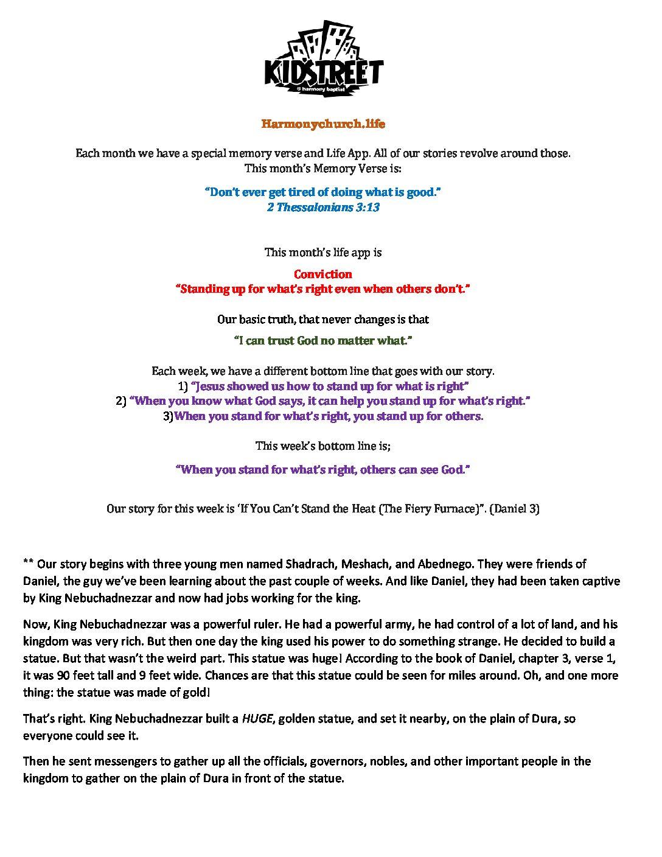 June Week 4 - Lesson