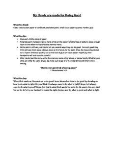 June Week 1 - Pre-K Craft